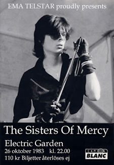 Wed 26 Oct 1983 Sisterswiki Org The Sisters Of Mercy