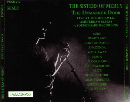 The Unmarked Door - SistersWiki org - The Sisters Of Mercy Fan Wiki