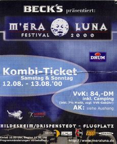 Festival mera germany luna M'era Luna