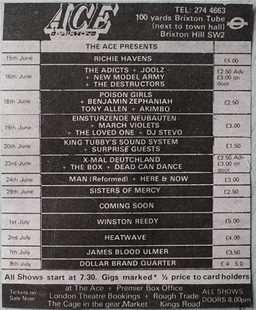 1983 06 19 & 29 Brixton Ace Events Newspaper Announcement.jpg